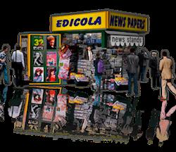 Storia Wind News Edicola