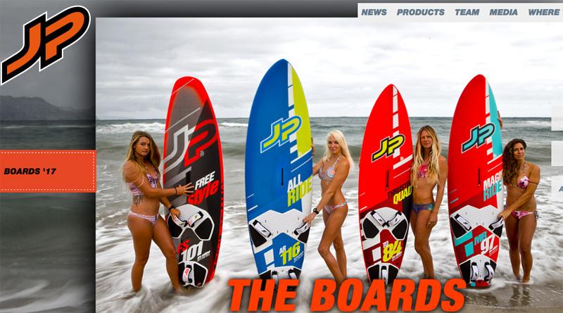 JP Australia 2017 windsurf sup