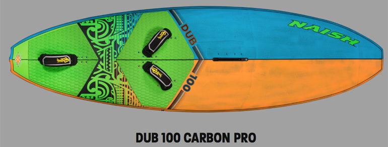 naish dub 100 carbon pro 2017