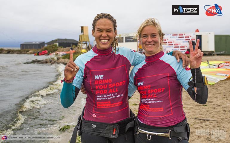 hvide sande pwa 2016 slalom sarah e maja