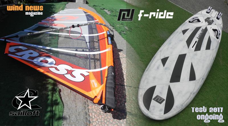 test patrik f-ride sailloft cross cover