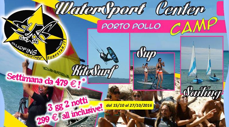 Watersport Center Camp Porto Pollo