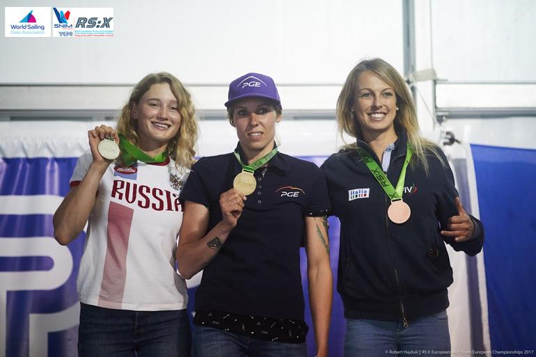 Europei rsx 2017 podio donne tartaglini