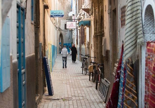 Alix Robert in Marocco