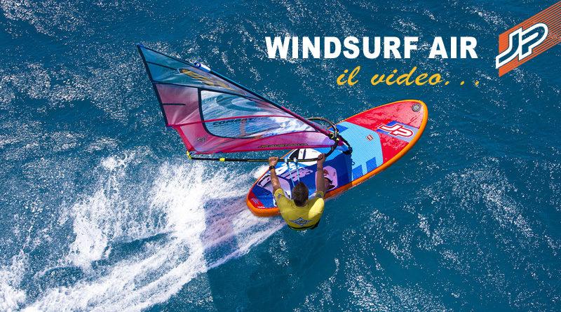 JP Windsurf Air video cover