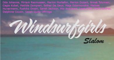windsurf girls slalom
