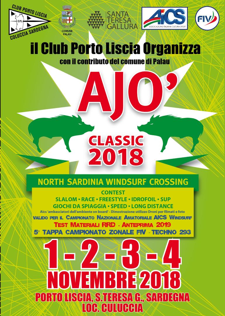 Locandina Ajò Classic 2018