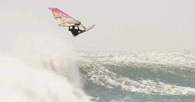 Il windsurfing heaven di Leon!