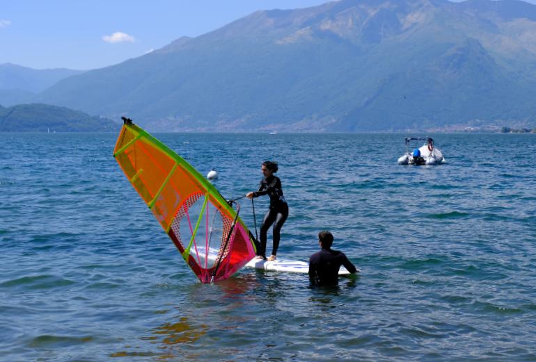 Corso Istruttore AICS Windsurf a Sorico