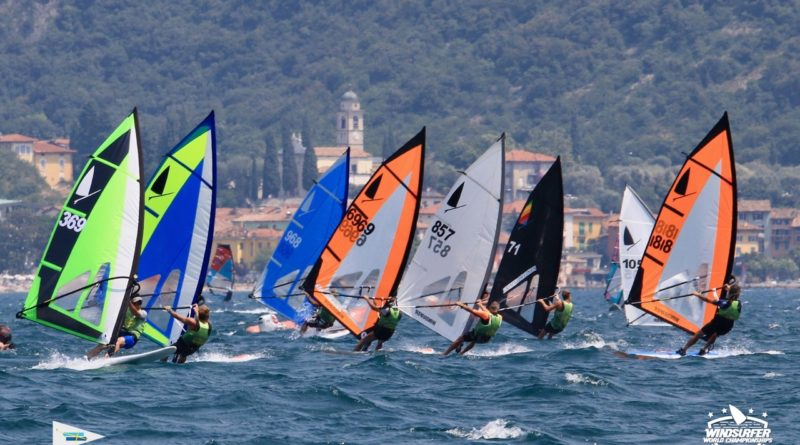 Windsurfer Worlds CST Torbole