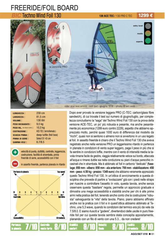 BIC Techno Wind Foil 130 2019
