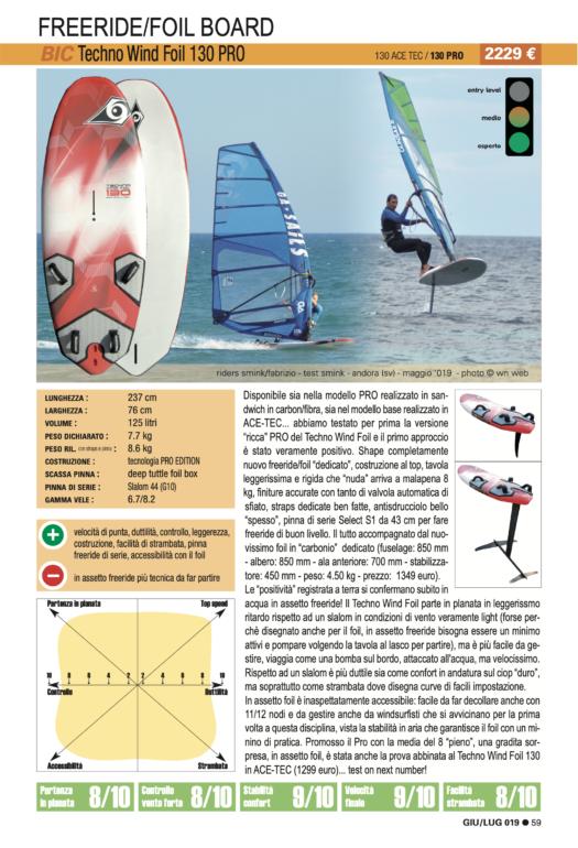 BIC Techno Wind Foil 130 Pro 2019