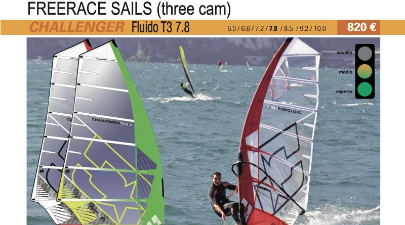Challenger Sails Fluido T3 7.8 2019 cover