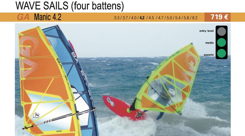 test GA Sails Manic 4.2 2019 cover