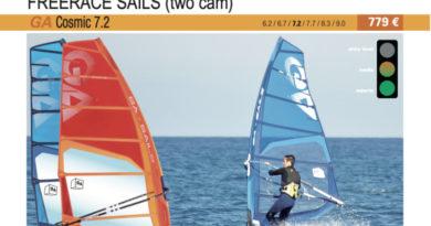 test GA Sails Cosmic 7.2 2019 cover