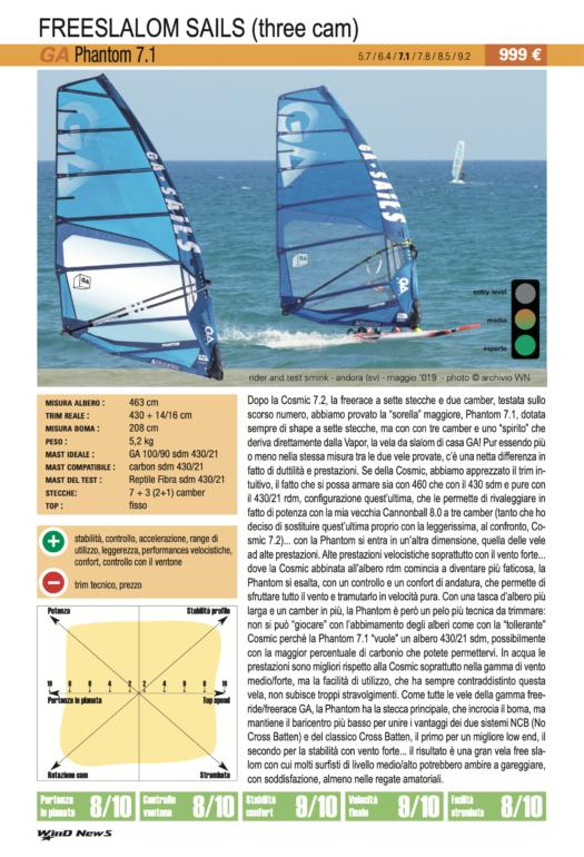 GA Sails Phantom 7.1