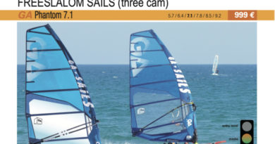 test GA Sails Phantom 7.1 cover