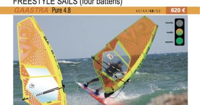 test GA Sails Pure 4.8 2019 cover