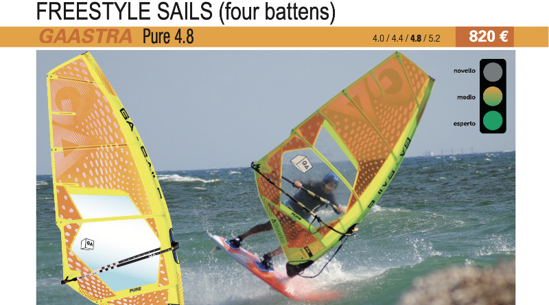 test GA Sails Pure 4.8 2019 cover