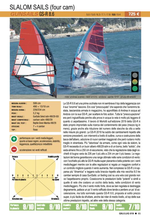 GUN Sails GS-R 8.6 2019