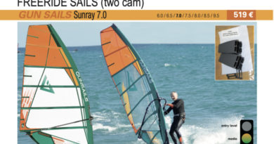 test GUN Sails Sunray 7.0 2019 cover
