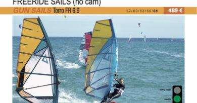 test GUN Sails Torro FR 6.9 2019 cover