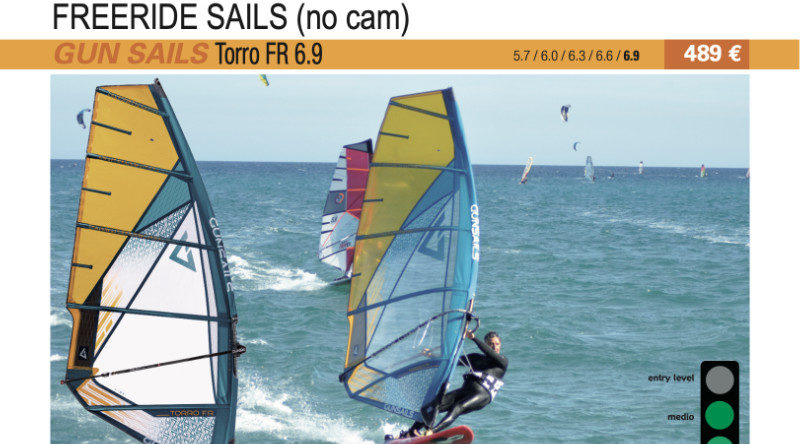 test GUN Sails Torro FR 6.9 2019 cover