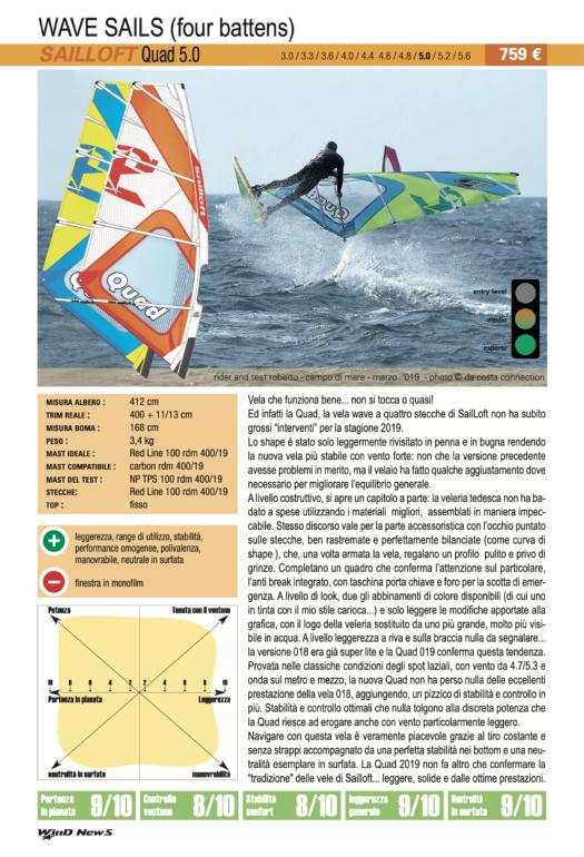 Sailloft Quad 5.0 2019