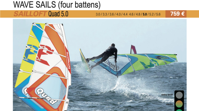 test Sailloft Quad 5.0 2019 cover