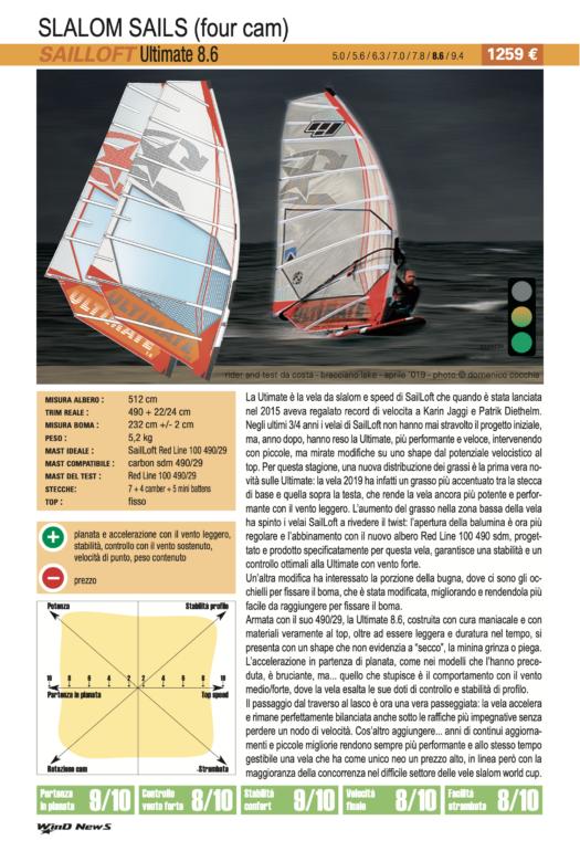 Test Sailloft Ultimate 8.6 2019